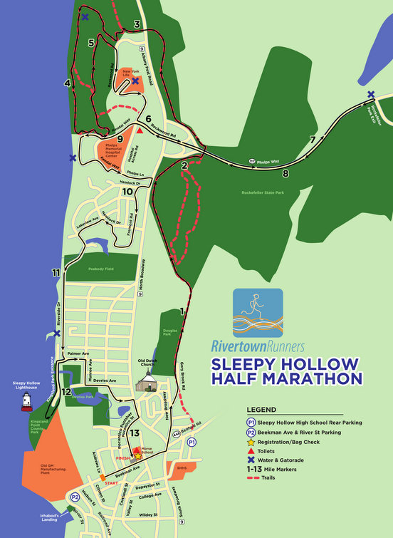 SH Half Marathon Official Course Map